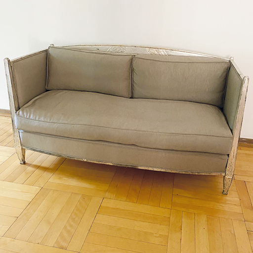 Zweisitzer Sofa von Paul Follot